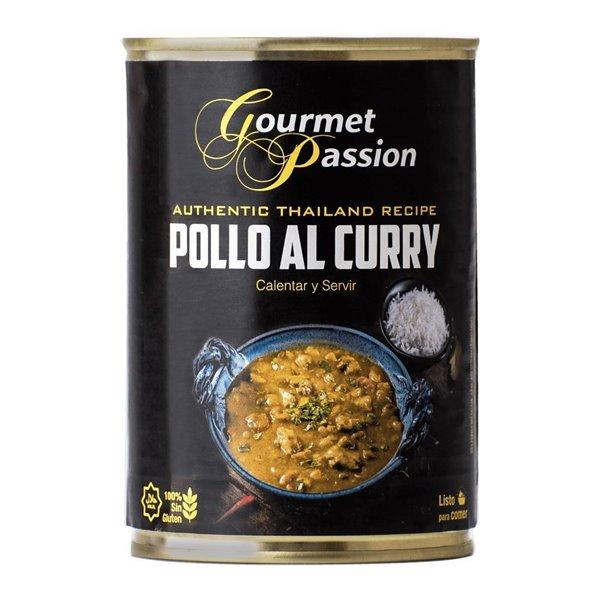 Pollo al Curry Lata 440g Gourmet Passion