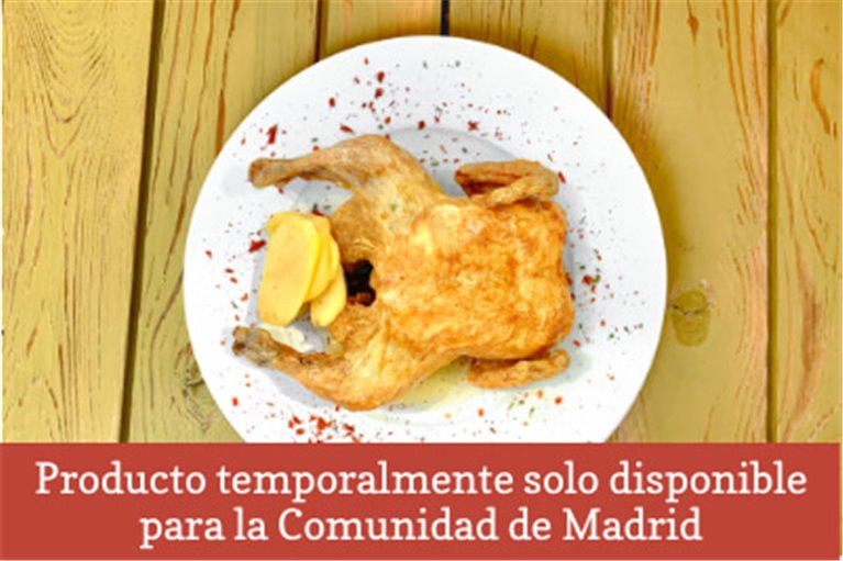 Pollo asado estilo casero (700gr)