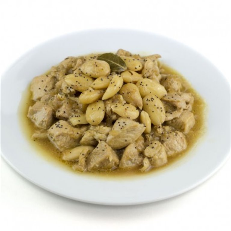 Chicken with Almonds.