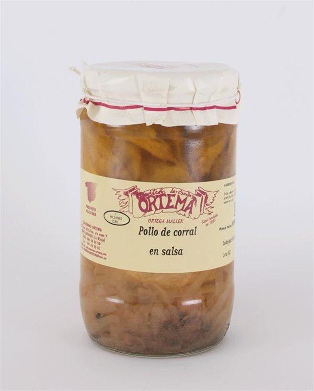 Pollo de corral en salsa de perdiz, 1 ud