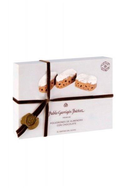 Polvorones de Almendra con Chocolate Premium Garrigós 200gr