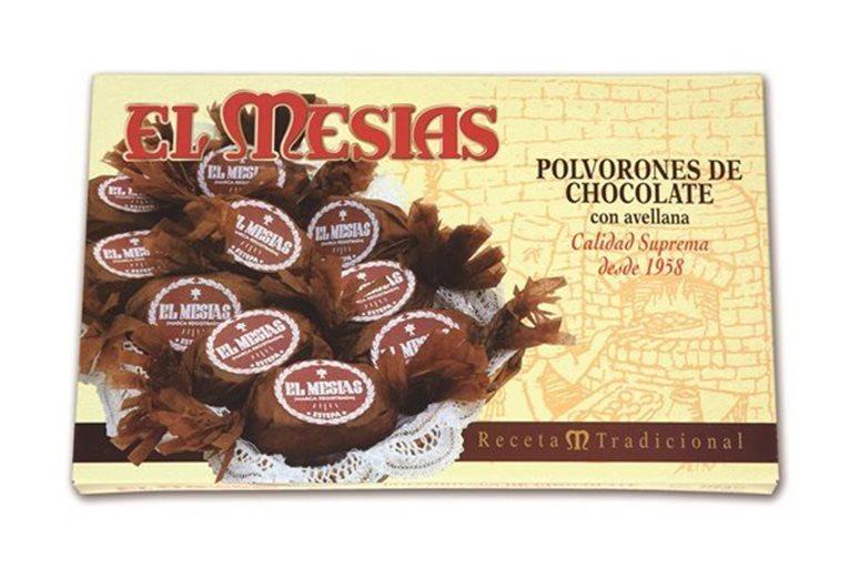 Polvorones de Chocolate con Avellanas (360 gr)