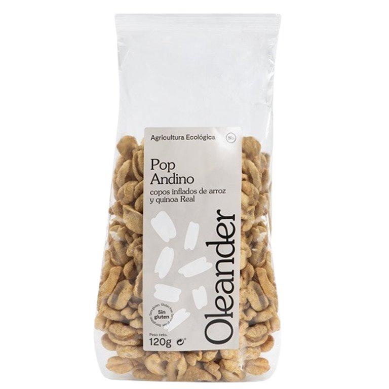 Pop Andino de Arroz y Quinoa Sin Gluten Bio 120g, 1 ud