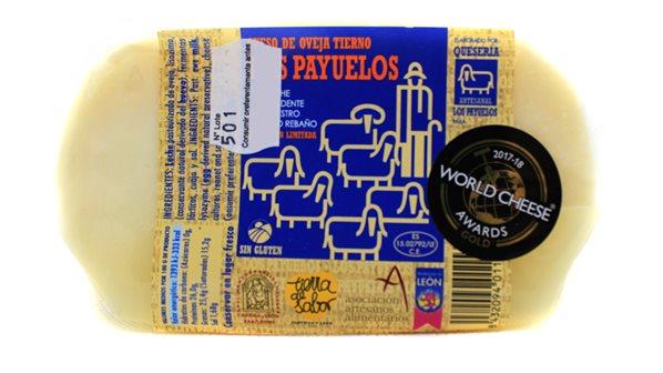 Porción de queso de Oveja Tierno pata de mulo 450 gr (aprox) LOS PAYUELOS