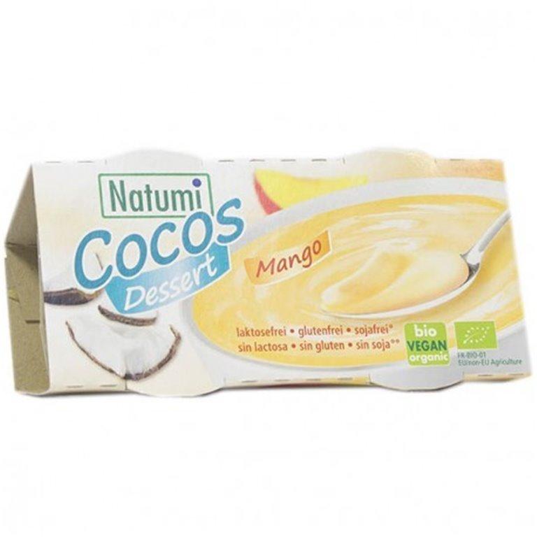 Postre de coco y mango, 220 gr