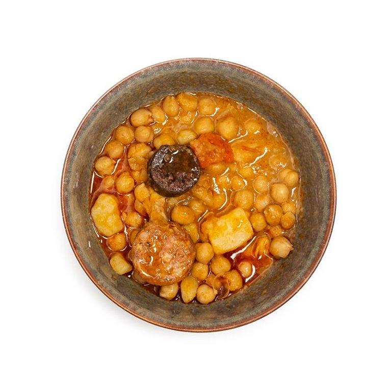 Potaje de Garbanzos con Morcilla y Chorizo