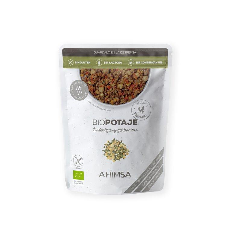 Potaje de Lentejas y Garbanzos Bio Ahimsa, 250 gr
