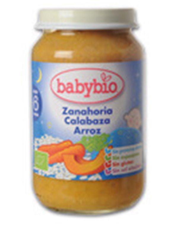 Potito buenas noches  zanahoria, calabaza y arroz, 200 gr