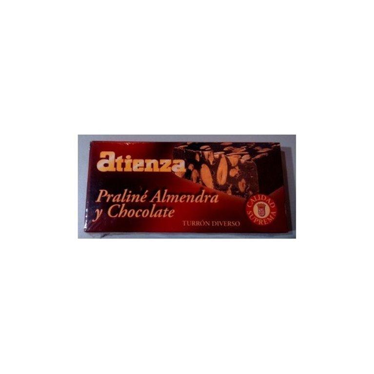 Praliné almendra y chocolate Atienza, 1 ud