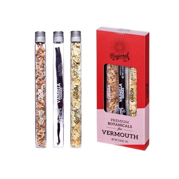 Premium botanicals for Vermouth