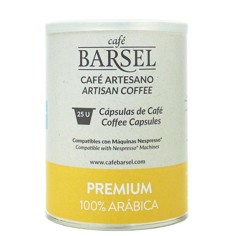 PREMIUM - Cápsulas compatibles Nespresso®, 25 ud