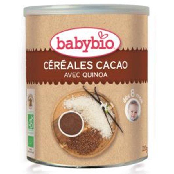 Preparado Ecológico de Cereales con Cacao 220 g. Babybio