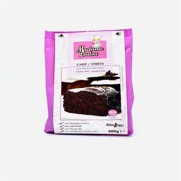 Preparado para Bizcocho de Chocolate sin gluten