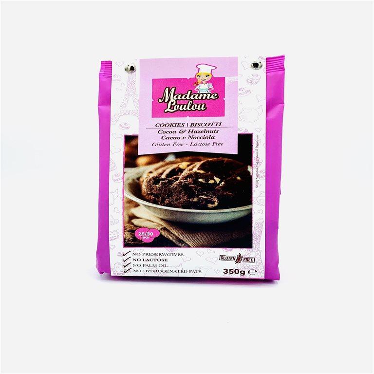 Preparado para Cookies de Cacao y Avellana sin gluten