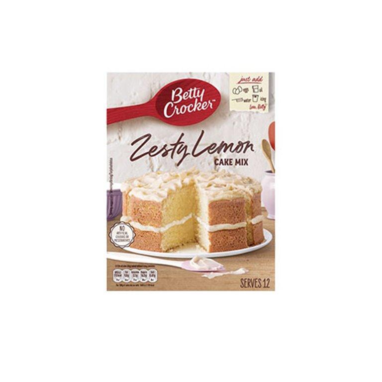 Preparado Tarta Zesty Lemon 12uds 425g Betty Crocker
