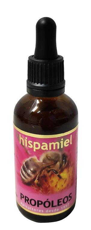 Propóleos Hispamiel 50ml. Frasco cuentagotas de 50 ml.