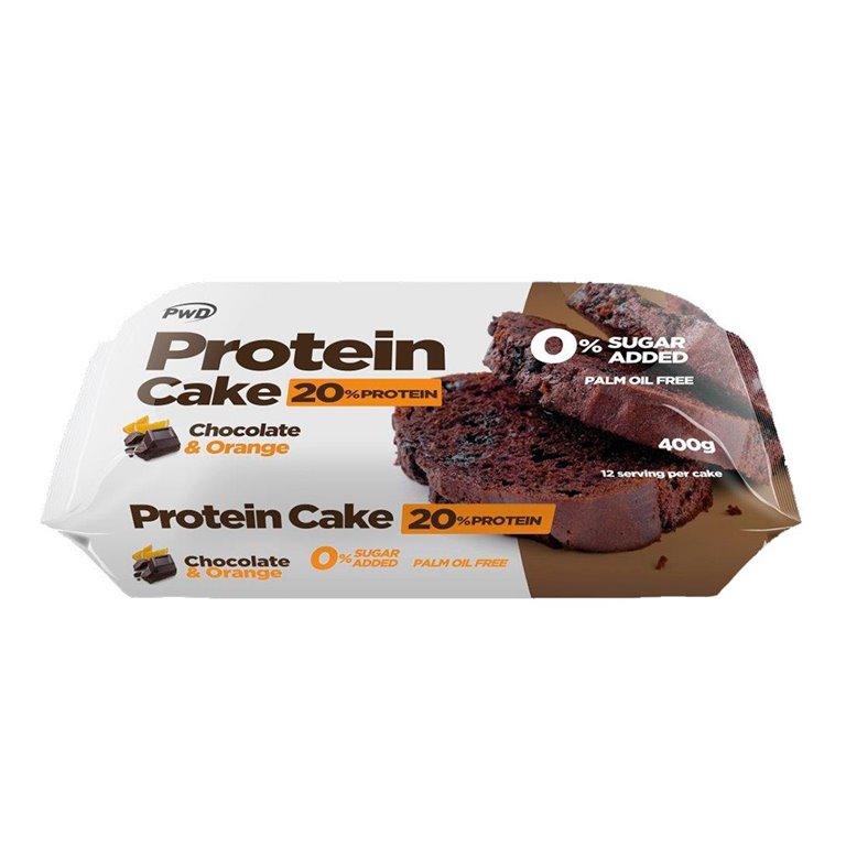 Protein Cake con Chocolate y Naranja (Sin Azúcar) 400g