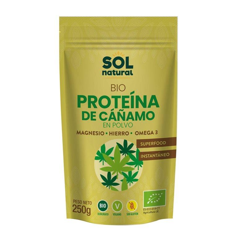 Proteína de Cáñamo Bio 250g