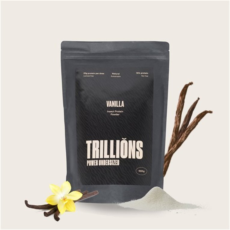 Protein powder with insect protein vanilla flavour 1kg