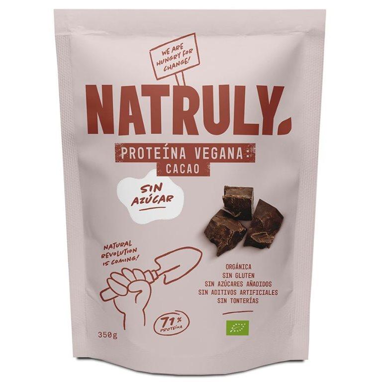 Proteína Vegana de Chocolate Bio 350g