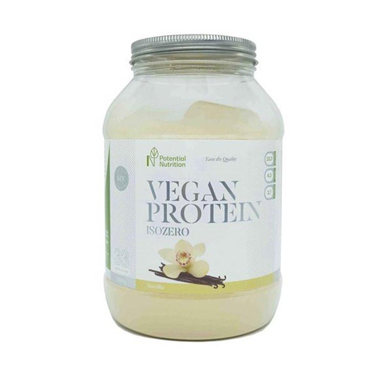 Vegan Protein - Pea Protein Isolate - Vanilla Flavour - 1kg