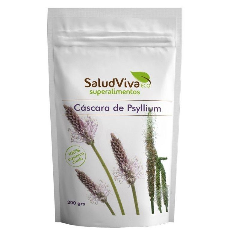 Psyllium Husk (Plantago Ovata) Bio 200g, 1 ud