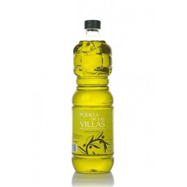 Puerta de las Villas. Aceite de oliva Picual. 1 litro. Caja de 15 uds.