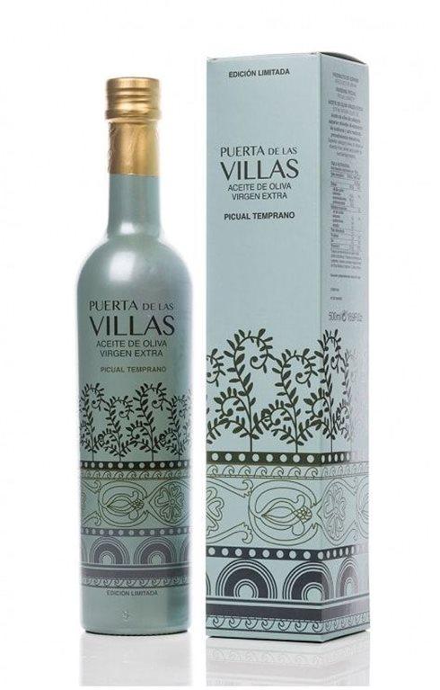 Puerta de las Villas. AOVE Temprano. Edición especial 500 ml.