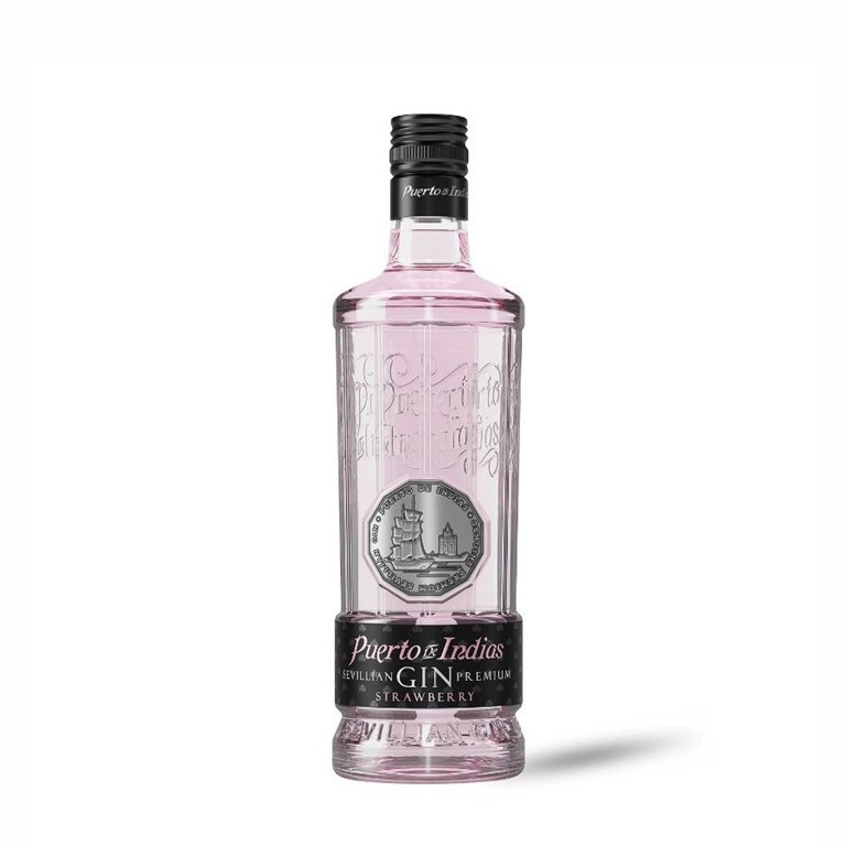 Puerto de Indias - Gin de Fresas 70 cl., 1 ud