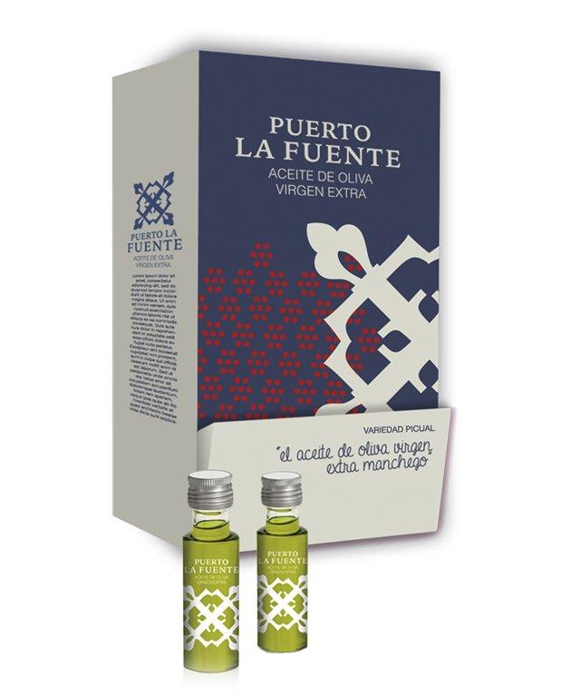 Puerto la Fuente - Aceite de Oliva Virgen Extra Picual 100uds x 20ml