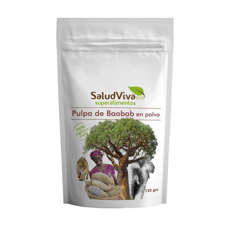 Pulpa de Baobab en Polvo Bio 125g