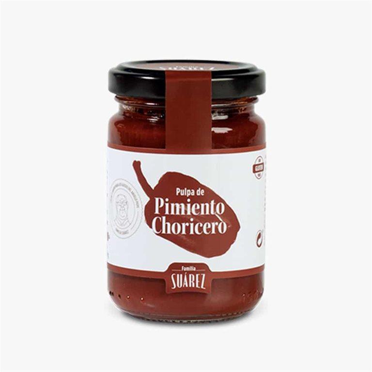 Pulpa de Pimiento Choricero 135 g Familia Suarez