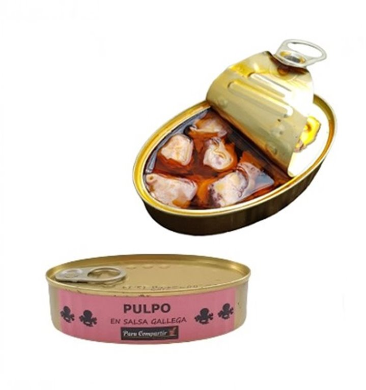 Pulpo en Salsa Gallega Para Compartir