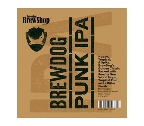 Punk IPA Beer Making Mix de BrewDog