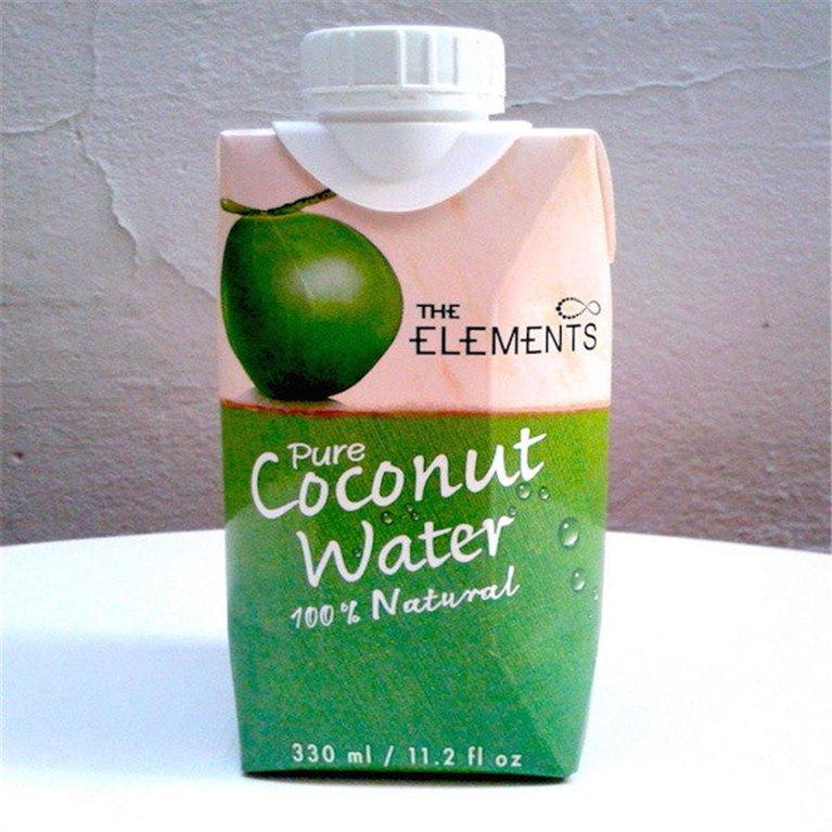 Pura agua de coco 330ml, 1 ud