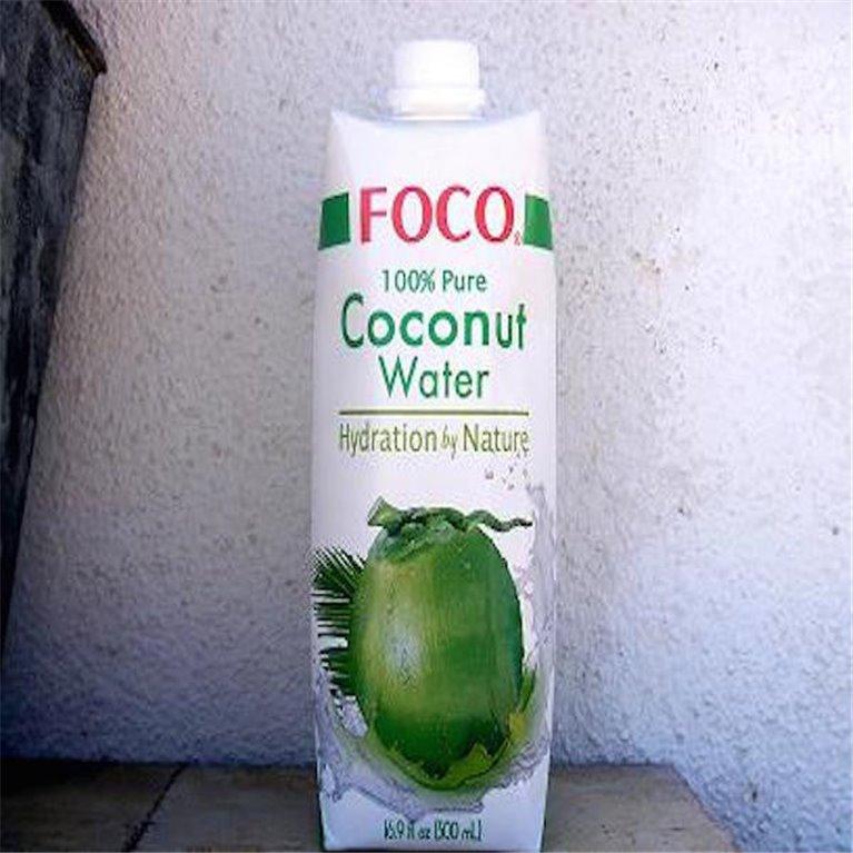 Pura agua de coco 500ml, 1 ud