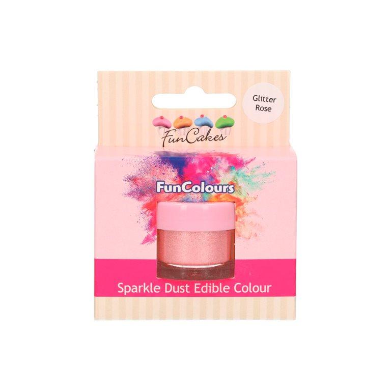 Glitter edible glitter pink glitter