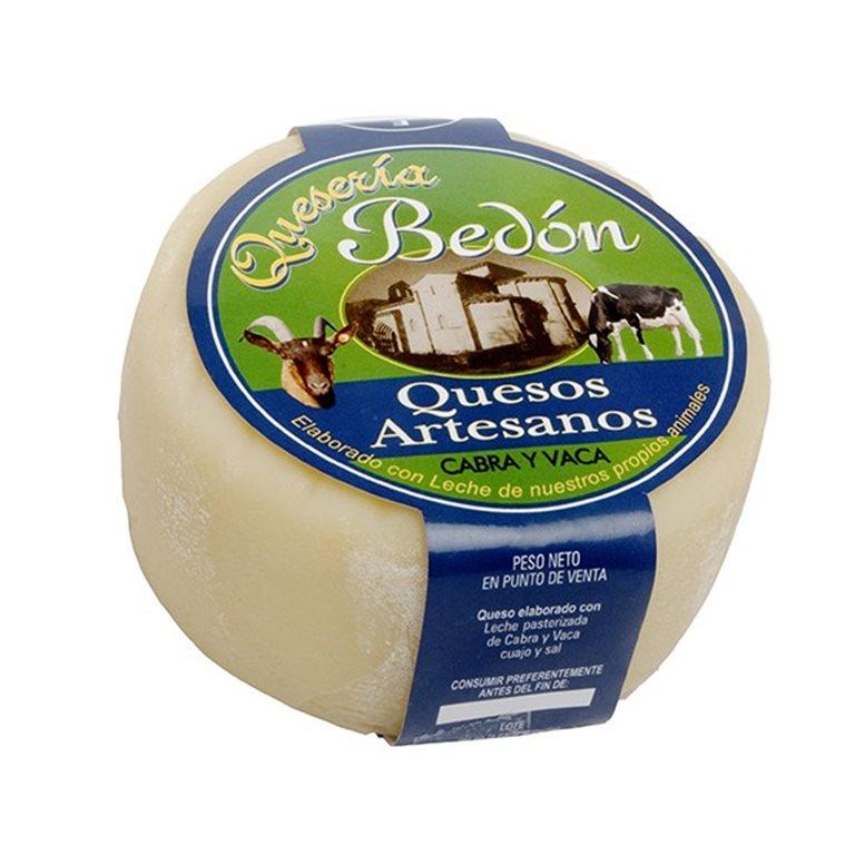 Queso Bedón Cabra y Vaca 500 gr