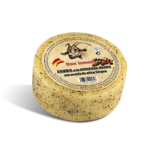 Queso Cabra a la Pimienta Negra DON ISMAEL  (500 gr.)
