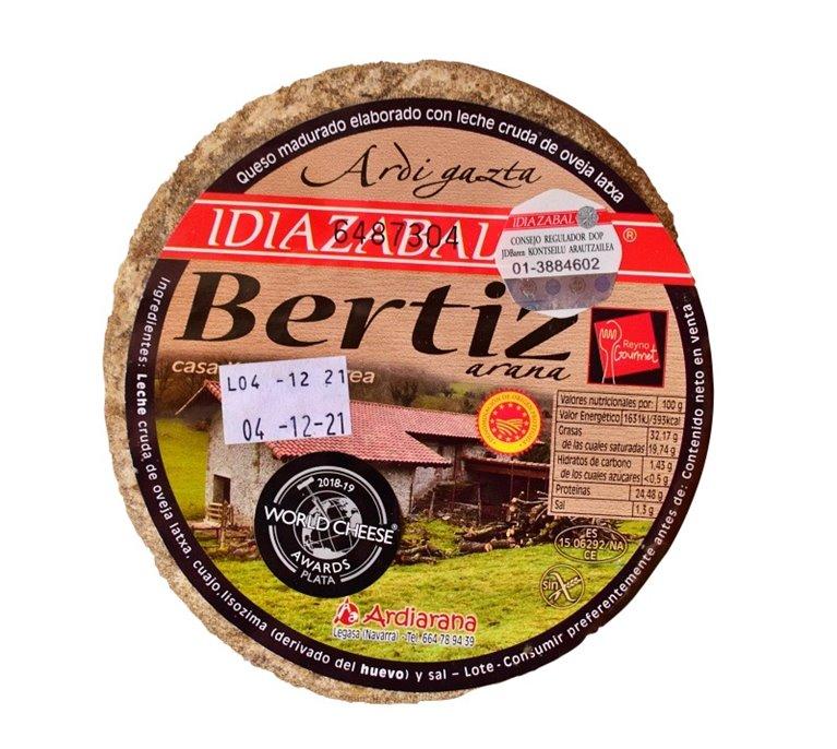 Idiazabal cured cheese 2.250gr