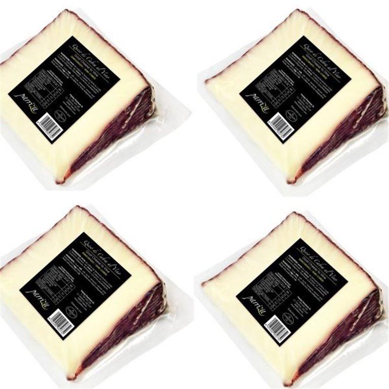 Queso de Cabra al Vino Semicurado (4x250g), 1 ud