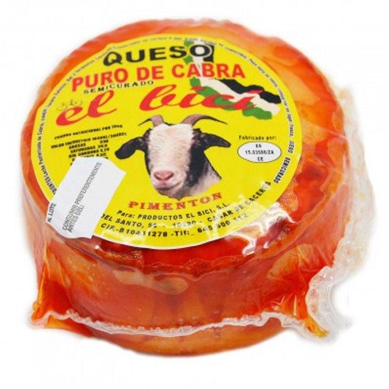 Queso De Cabra Con Pimentón Semicurado, 400 gr