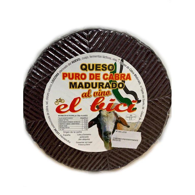 Queso De Cabra Madurado Al Vino, 650 gr