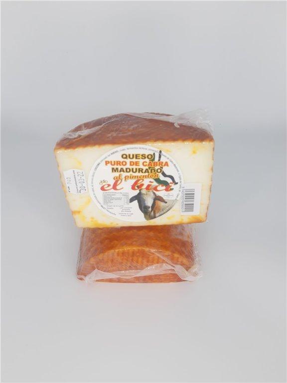 Queso De Cabra Madurado con Pimentón de la Vera, 530 gr