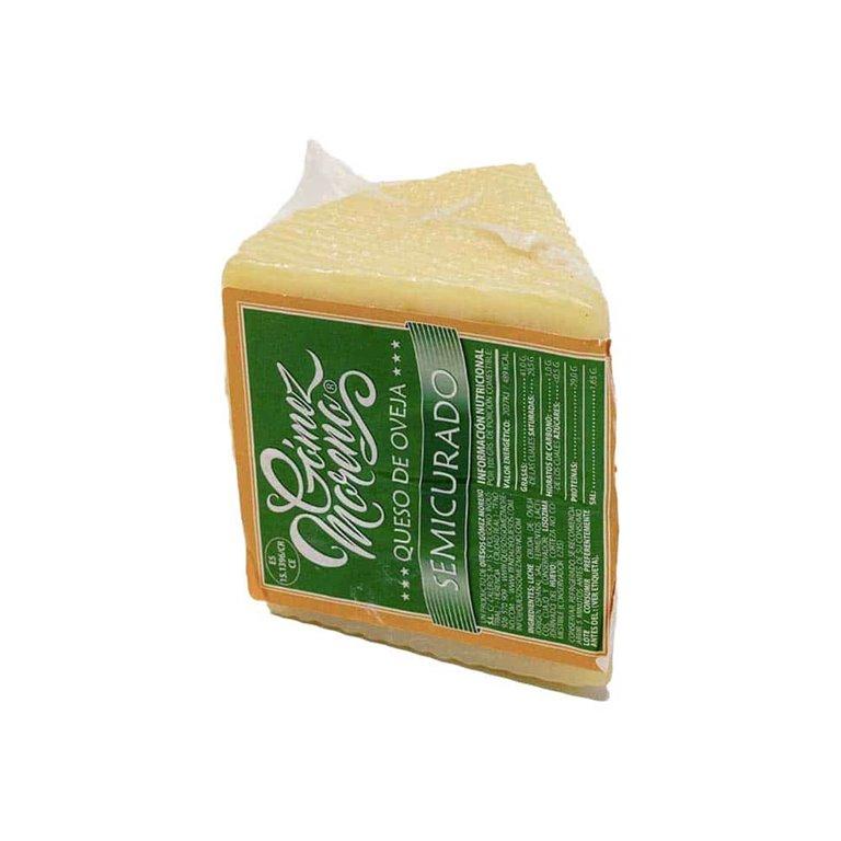 Gómez Moreno Artisan semi-cured sheep's cheese wedge