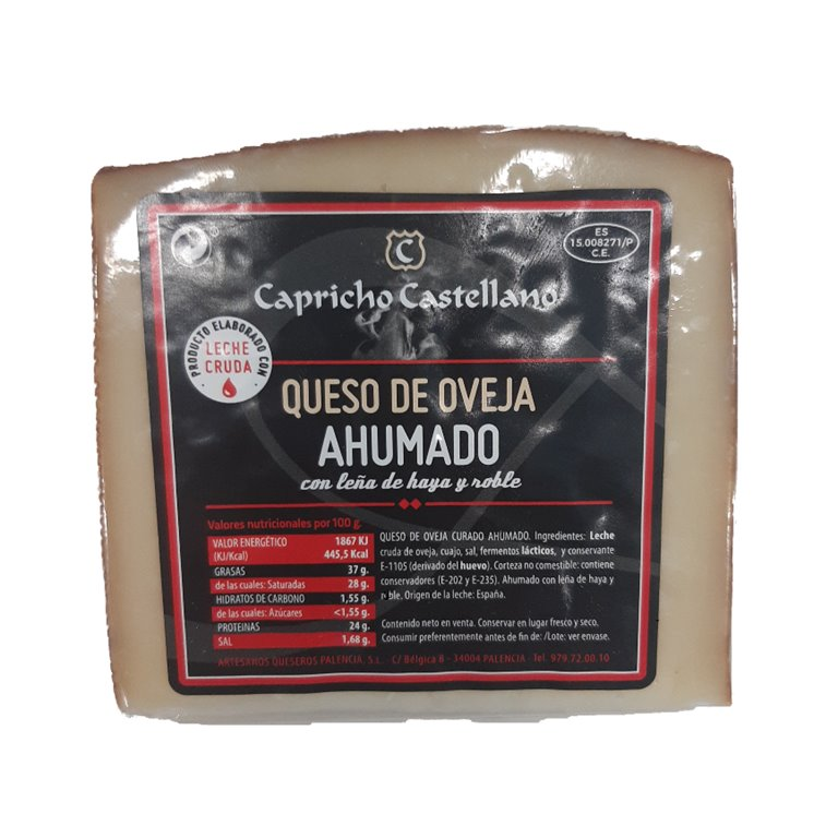 Smoked Cured Sheep Cheese 1/8 (400g Approx.)