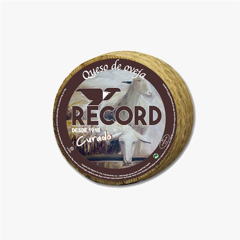 Cured sheep's cheese Record 1 Kg