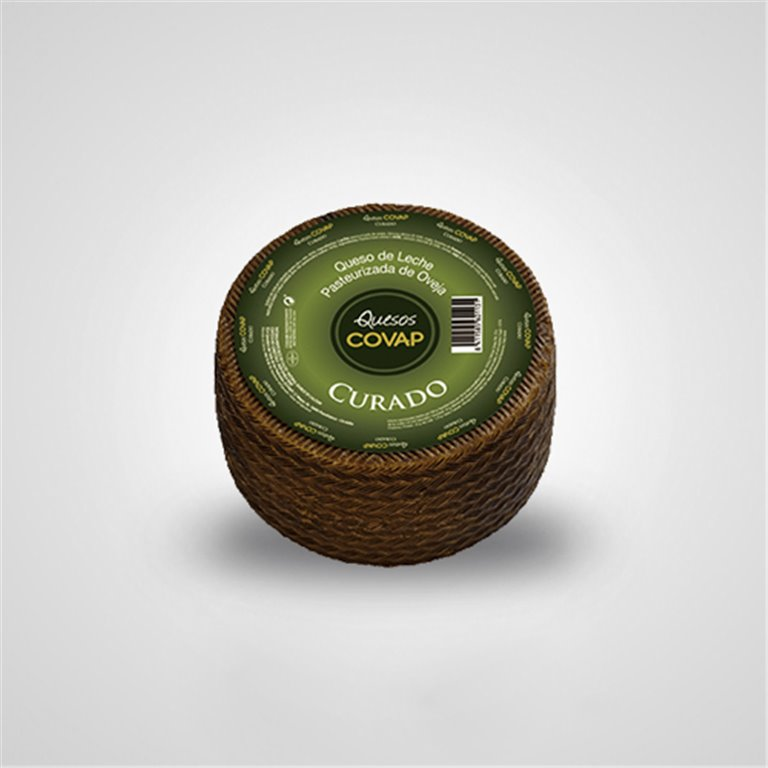 Queso de Oveja de Leche Pasteurizada Curado