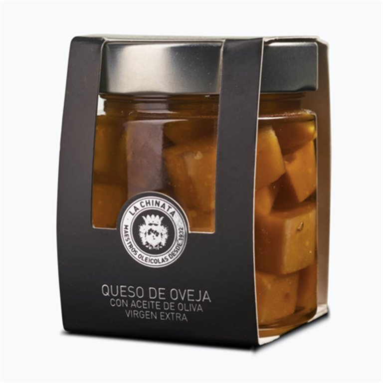 Sheep's cheese in extra virgin olive oil