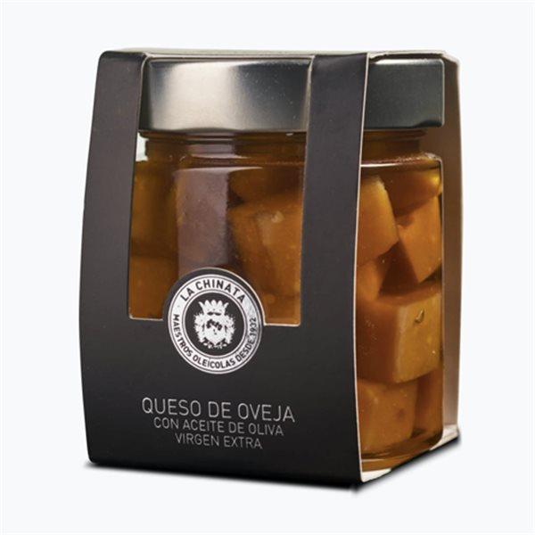 Queso de oveja en aceite de oliva virgen extra